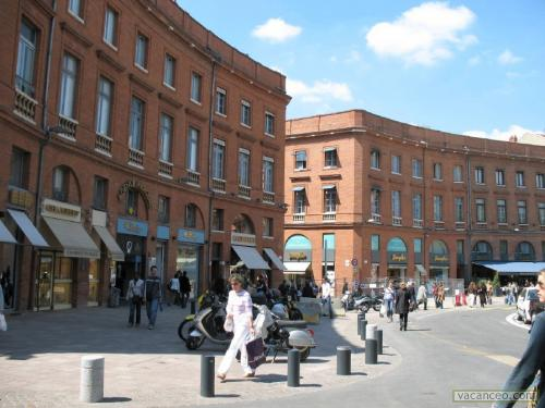 Toulouse point sur les prix et la situation du centre for Hotel design toulouse centre ville