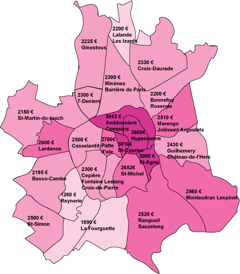 Carte_prix_immobiliers_Toulouse_2013