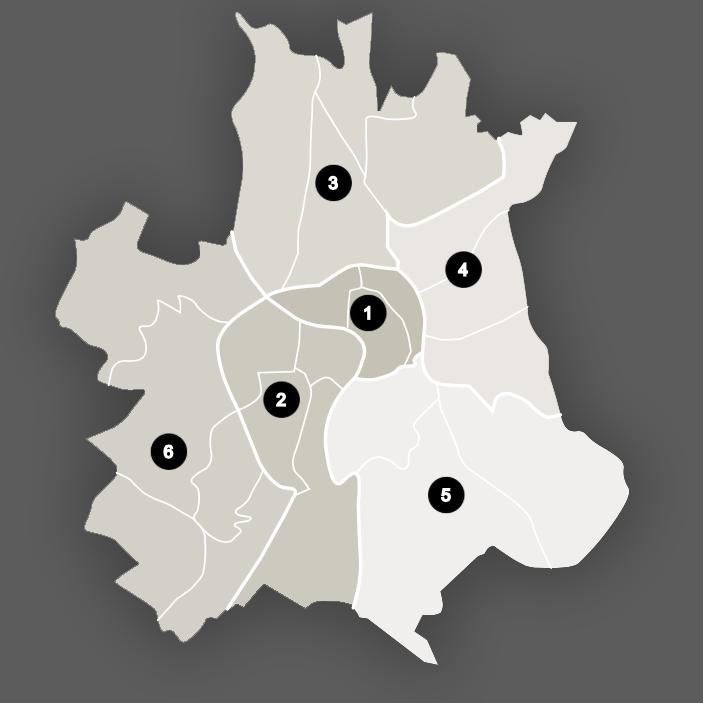 CarteToulouse Quartiers de Toulouse