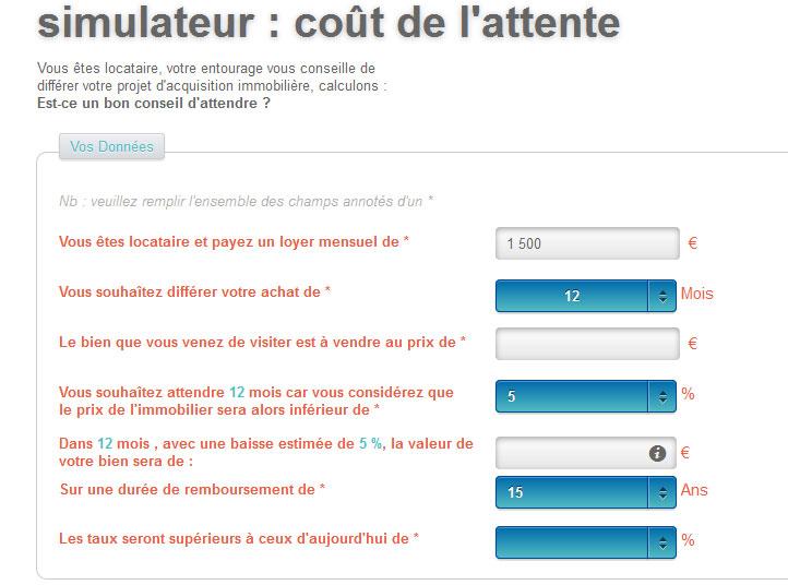 simulateur_cout_attente_achat_immobilier
