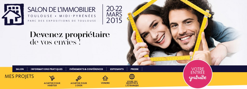 salon immobilier toulouse Mars 2015