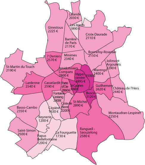 Carte_prix_immobiliers_Toulouse_2015